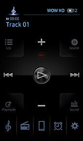 Android™端末用アプリ JVC Audio Control BR1